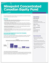 concentrate canadian equity fund overview