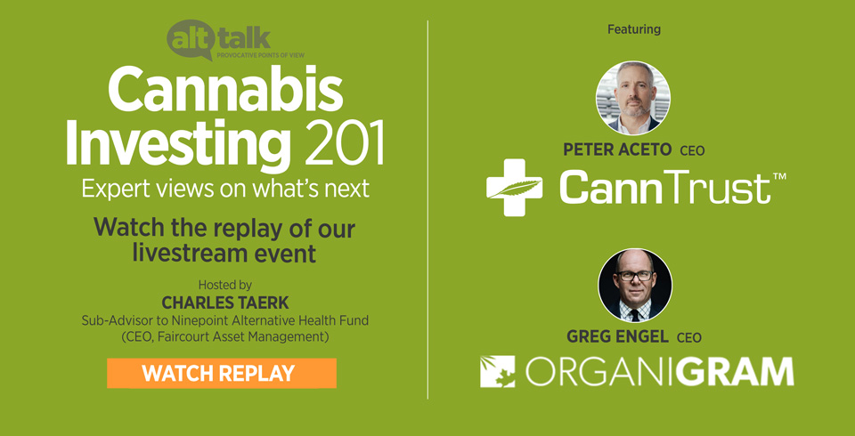 Livestream Event Cannabis Replay