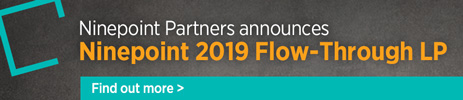 Ninepoint announces Ninepoint 2019 Flow-Through LP