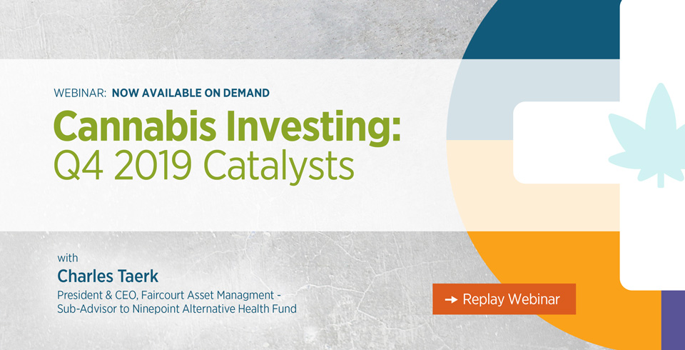 Cannabis Investing Q4 2019